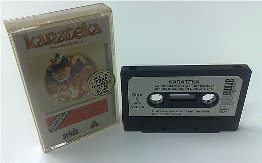 Cassete do game Karateka