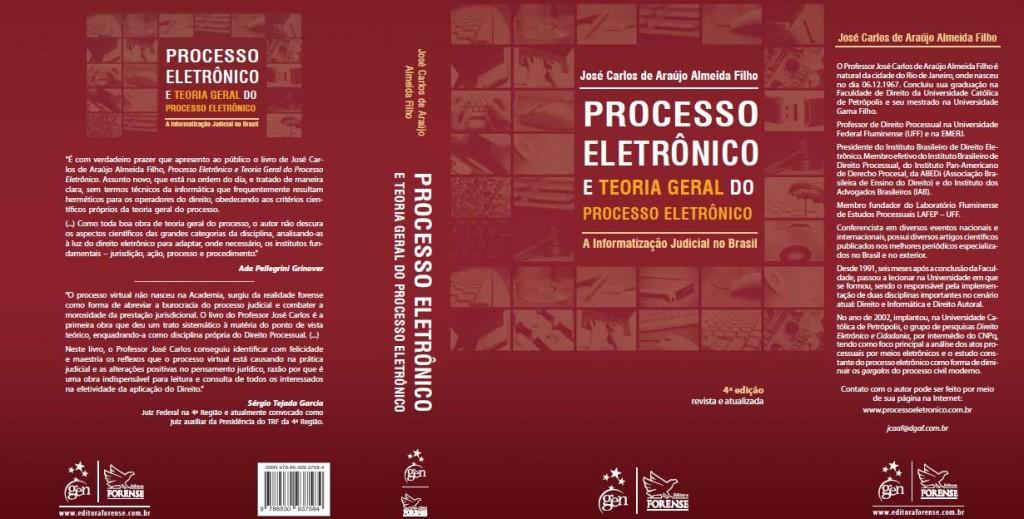 Capa do livro: Processo Eletrônico e Teoria Geral do Processo Eletrônico