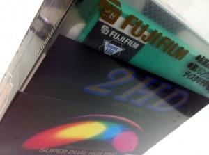 Caixa disquete 5 1/4 Fujifilm