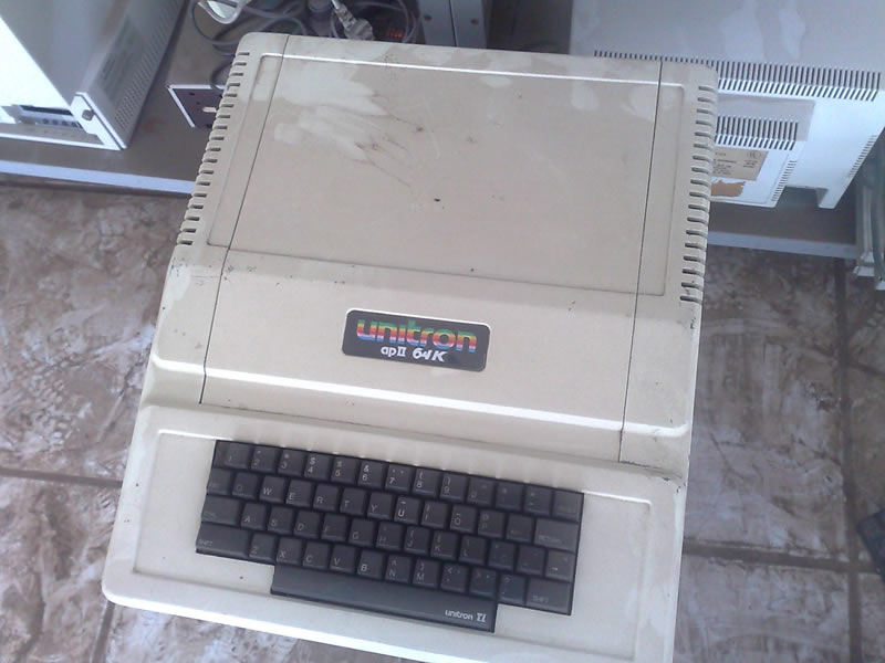 Apple II 64K da Unitron