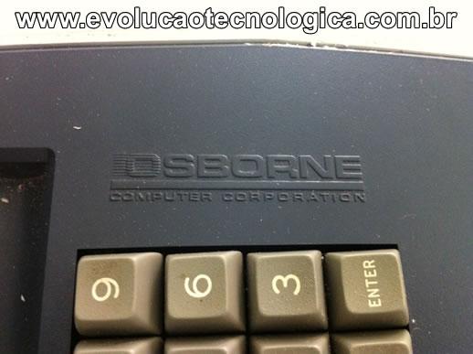 Osborne 1 chanfro teclado