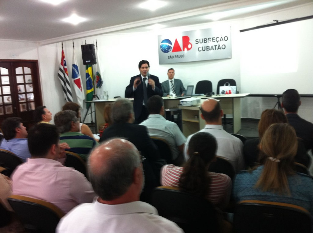 Palestra na OAB/Cubatão - 18/04/2013 - foto 1