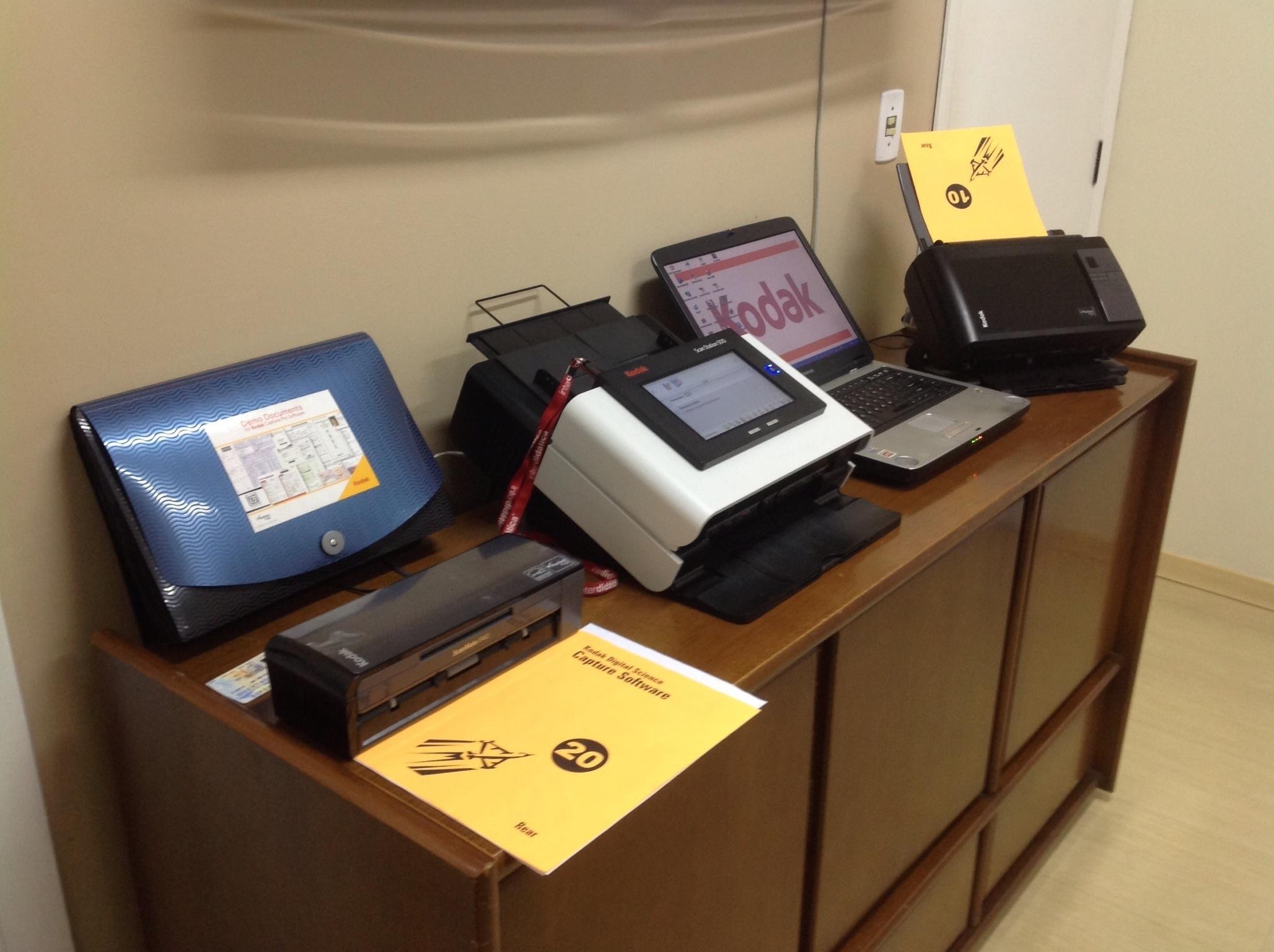 Modelos de scanners avaliados na Netscan