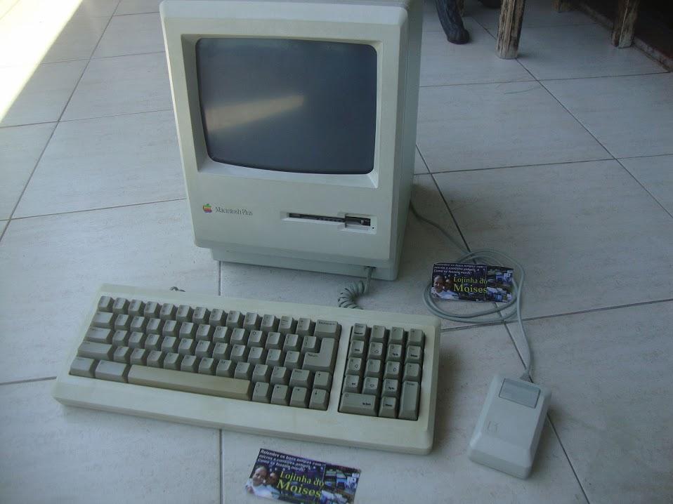 Macintosh Plus: novo integrante da minha coleção de micros antigos