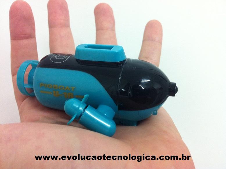 Submarino controlado remotamente
