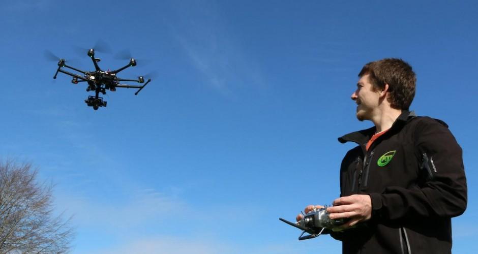 Voo de drone