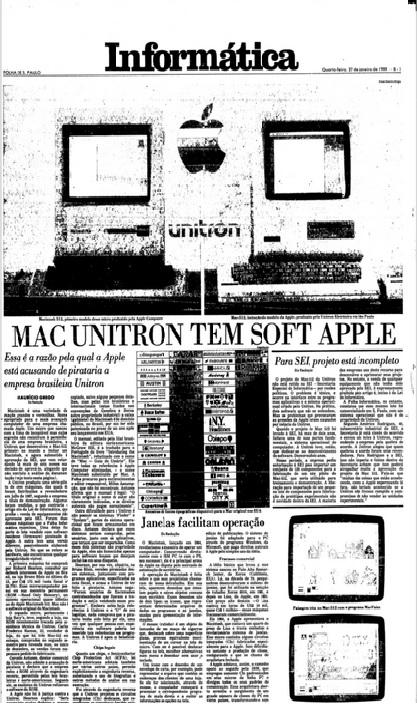 MAC UNITRON TEM SOFT APPLE
