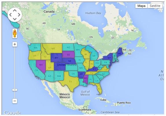 Legislação de DRONES por Estado norte-americano